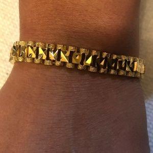 Other - 18k Gold Plated Chunky Bracelet